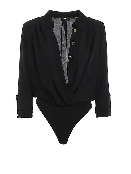 Body/camicia incrociata  - Elisabetta Franchi