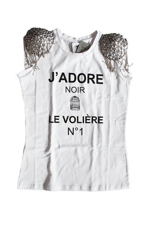 T-shirt J'ADORE NOIR - Le Volère