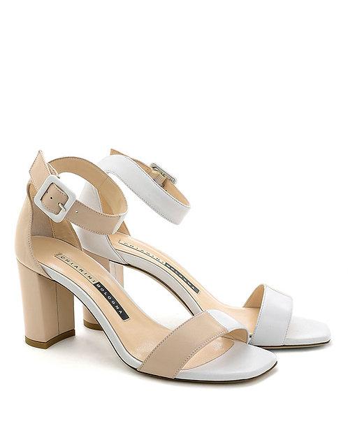 Sandalo 931 Bianco/Crema  - Chiarini Bologna