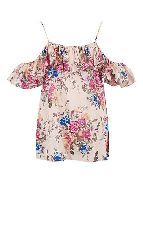 Top stampa  Fiori Bouquet Rosé- TWINSET MY TWIN