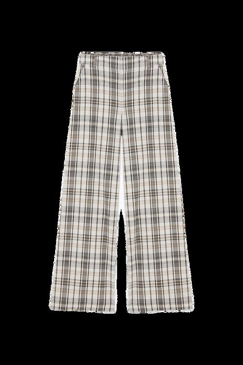 Pantalone  Beige Check - Patrizia Pepe