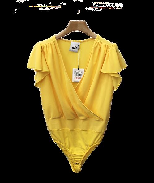 Camicia Body elegante giallo -JIJIL