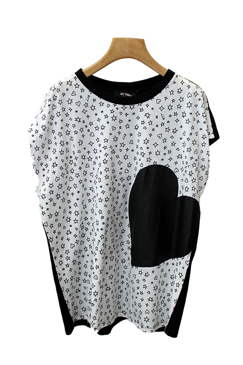 T-shirt Bicolor 191MP2066- TWINSET My Twin
