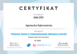 Certyfikat_terapia_psów_z_zaburzeniami_