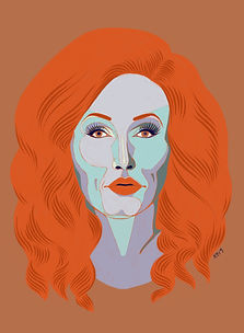 Portrait of Jinkx Monsoon by Kate Blairstone