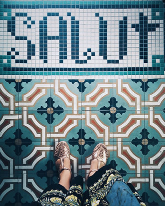 The Solo Club Mosaic Tile design by Kate Blairstone
