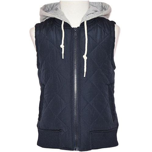 Zip Thru Hooded Vest