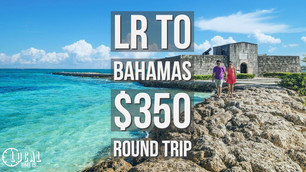 Little Rock to Bahamas $350 round trip
