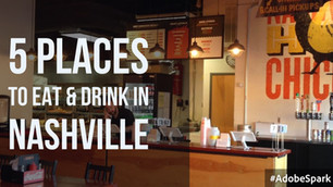 5 Places to Eat and Drink in Nashville