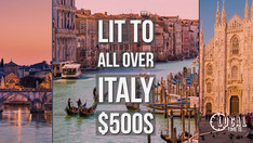 LIT to 5 Italian Cities!