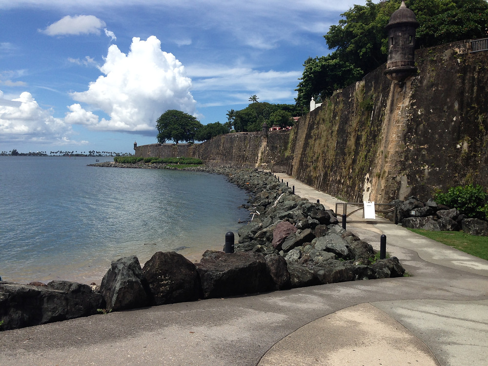 Just outside the Fort in San Juan Puerto Rico