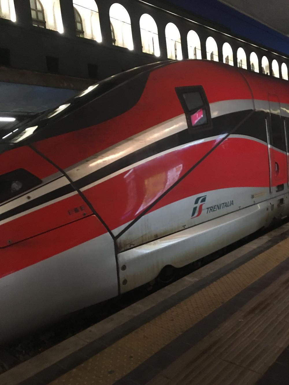 Italia Rail: the Italian train