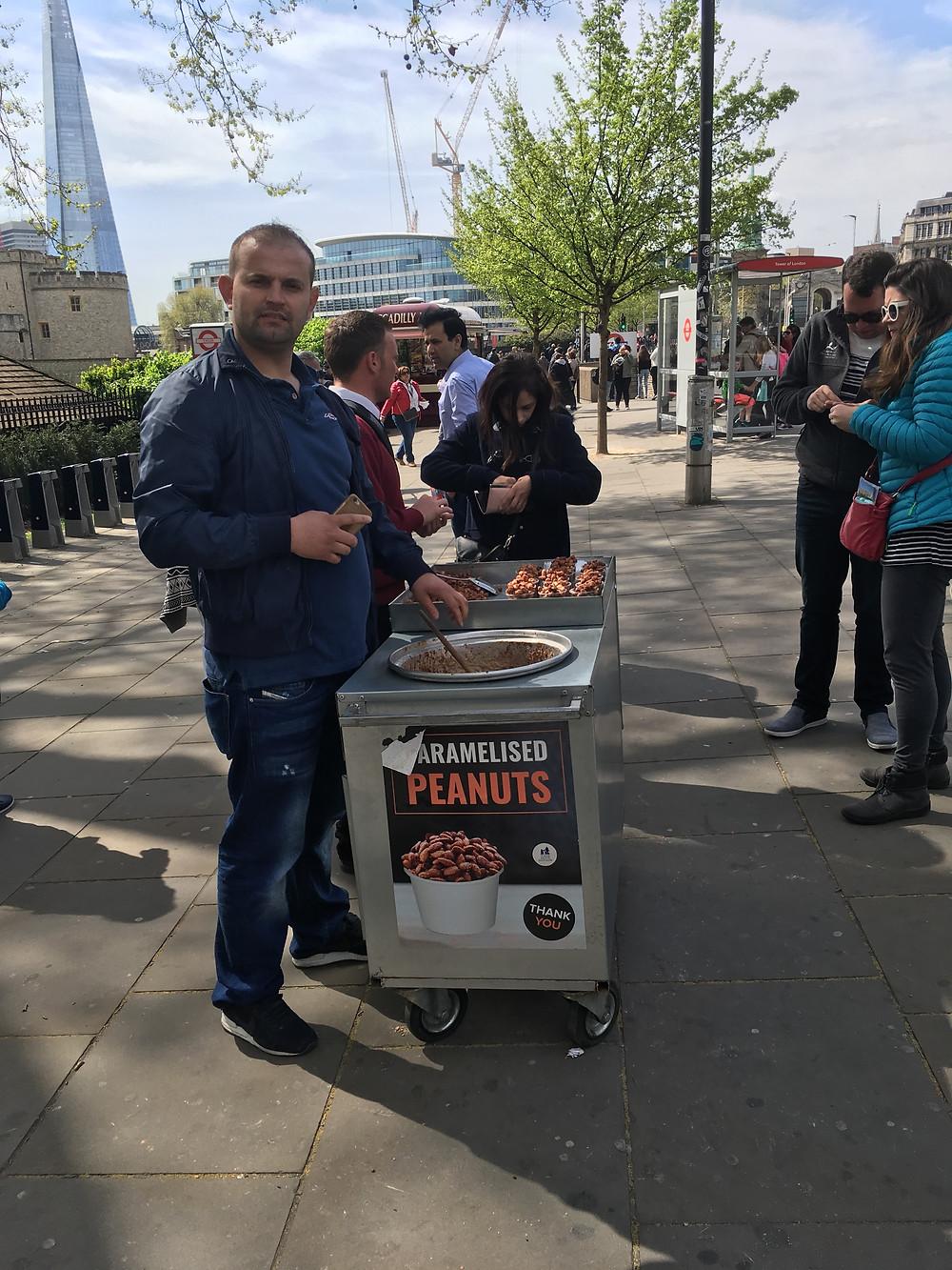 London street vendors