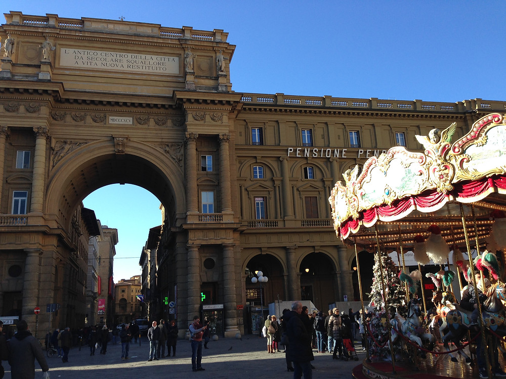 Piazza in Florence