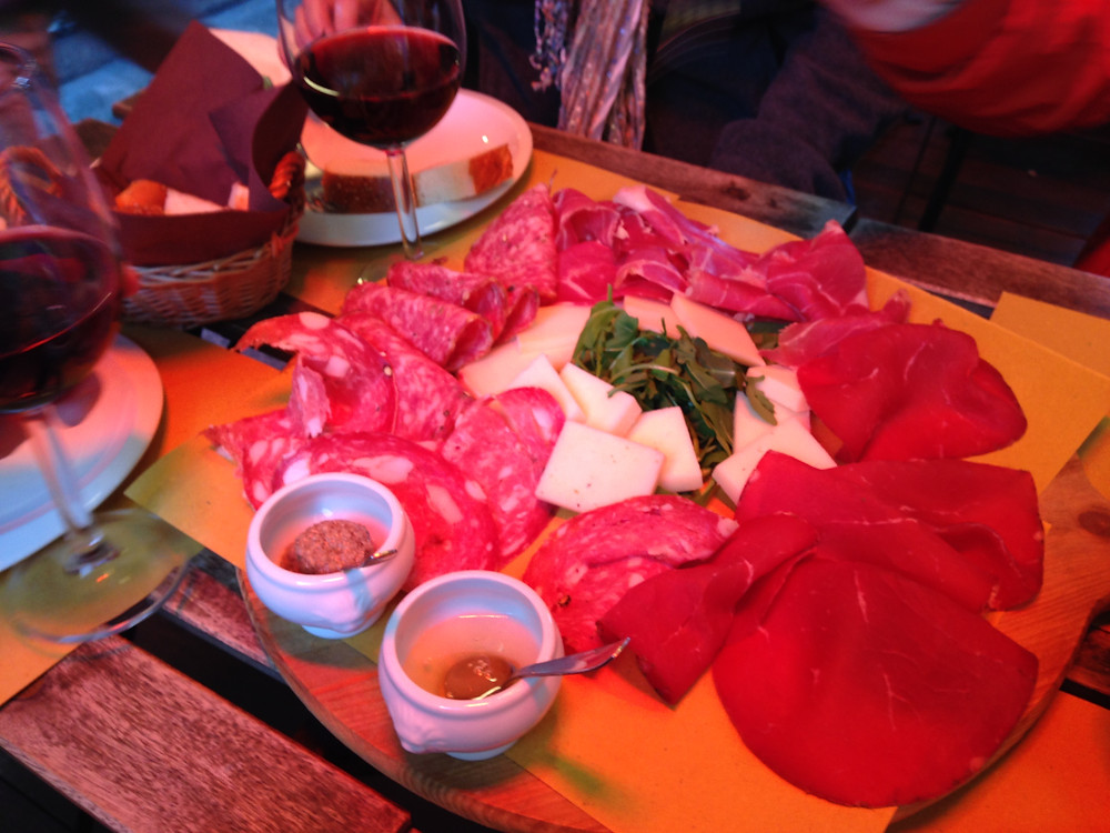 Charcuterie Appetizer Platter in Florence