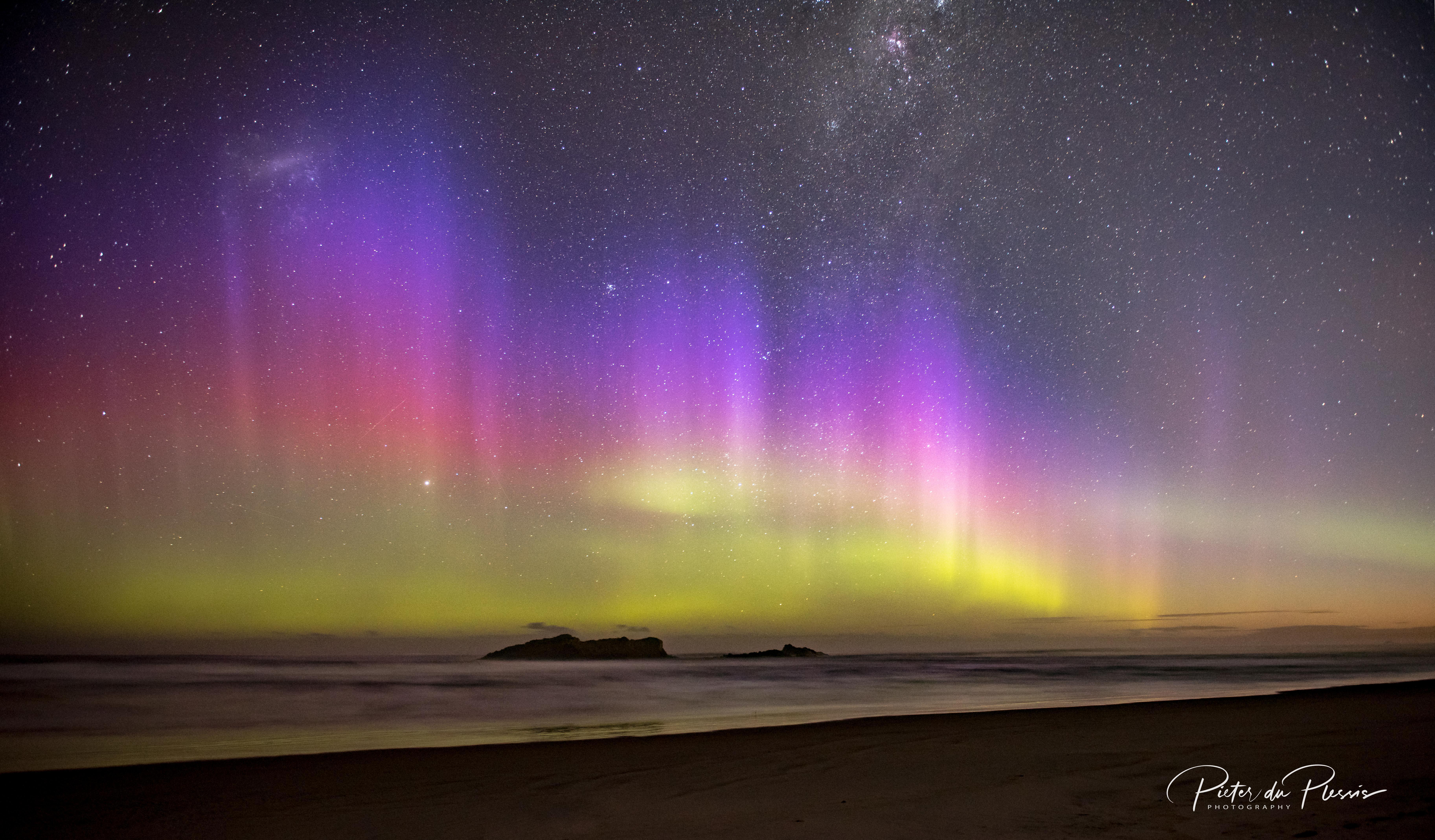 Aurora Australis Smails Beach