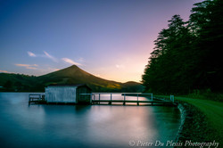 Hoopers Inlet sunset
