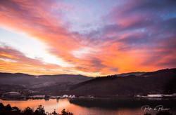 Otago Harbour Sunset July 2019