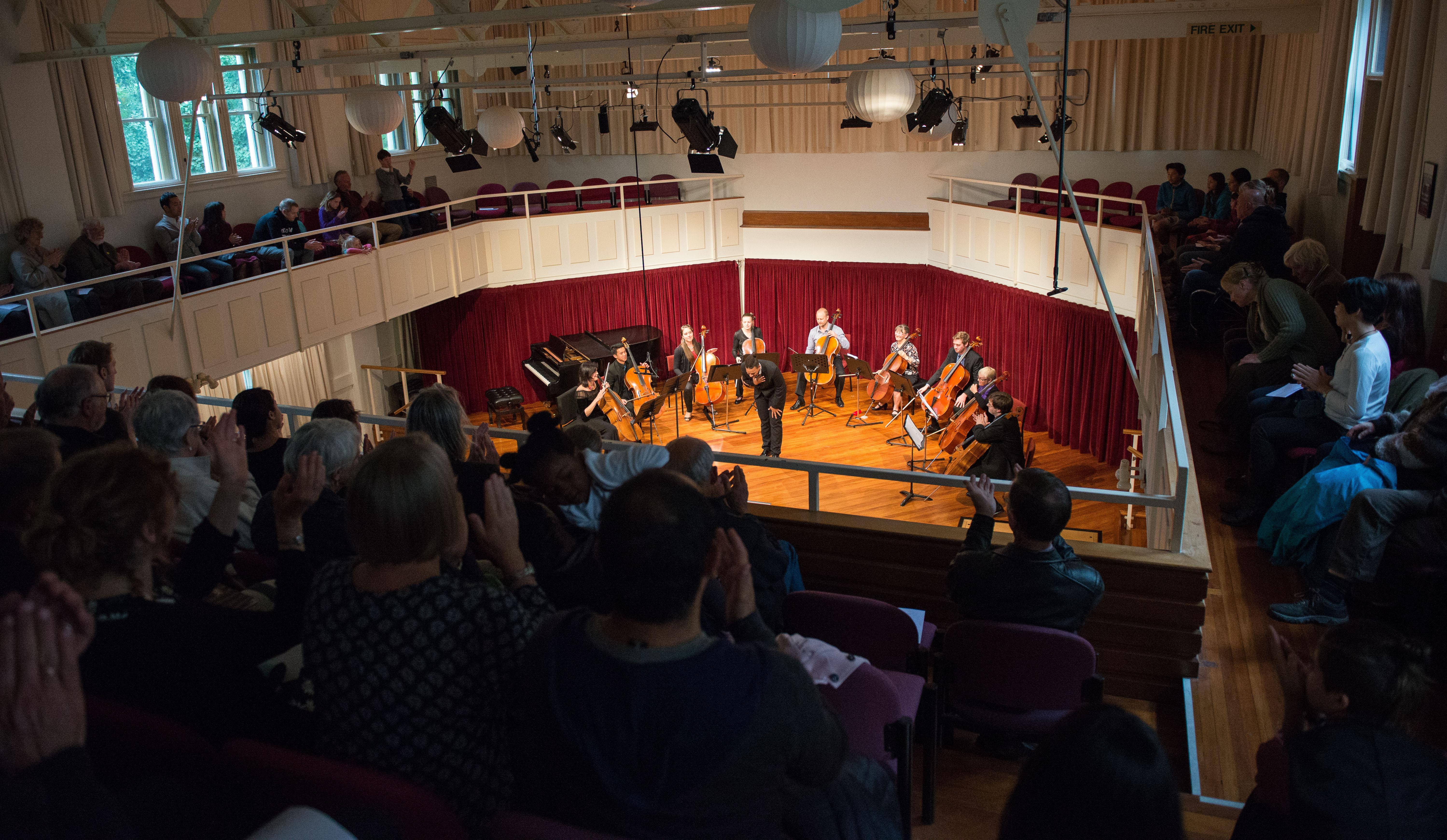 Singing Cellos Performance