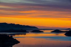 Otago Harbour sunrise