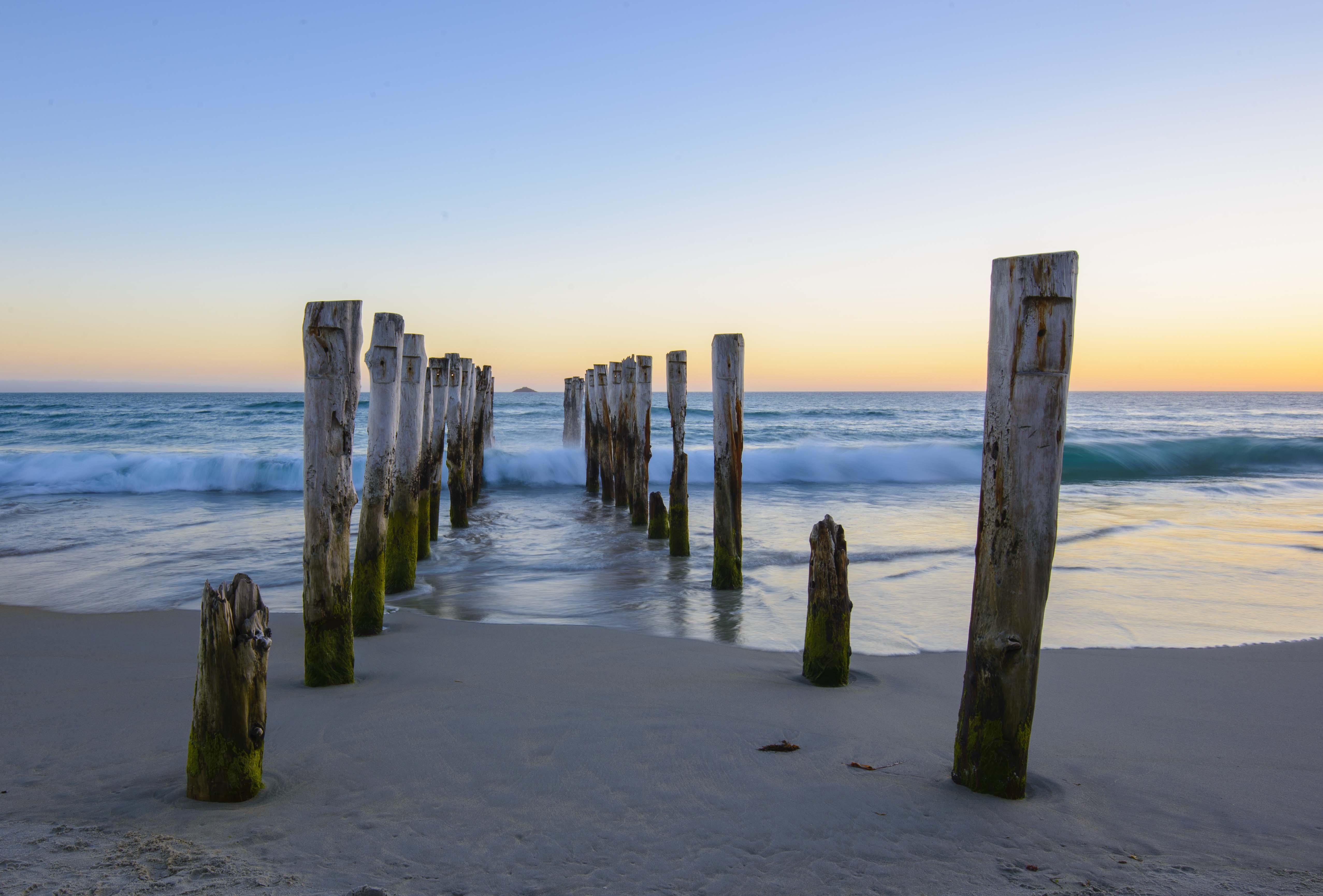 St Clair Beach Poles