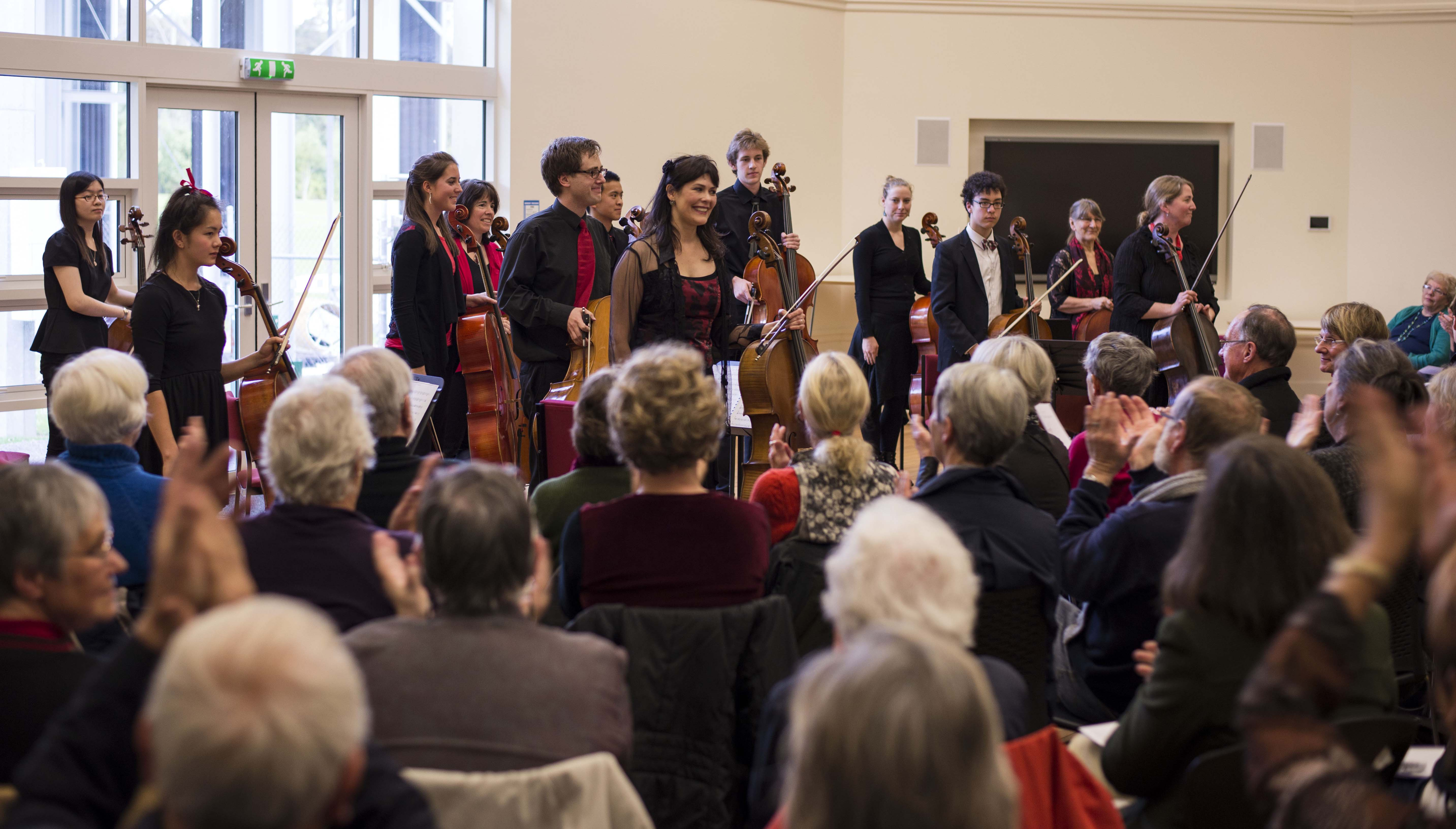 Cellist of Otago 2, May 2014