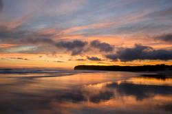 Tomahawk beach sunset