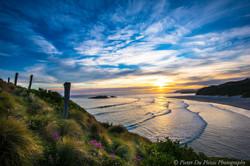 Smails Beach Sunset, Dunedin