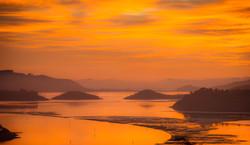 Sunrise, Otago Harbour
