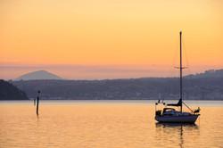Otago Harbour sunset