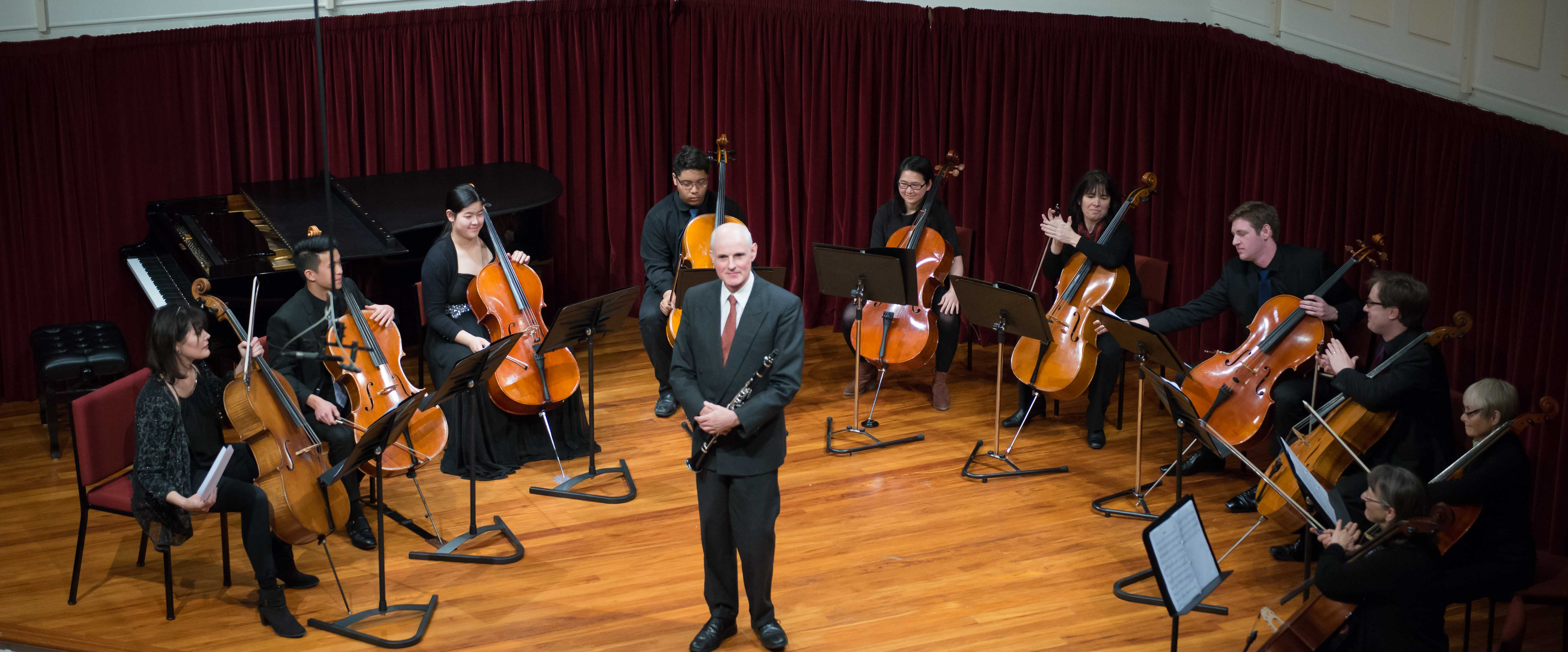 Cellists of Otago Marama 2016-2
