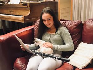 Ayla Biner-McGrath - Clarinet