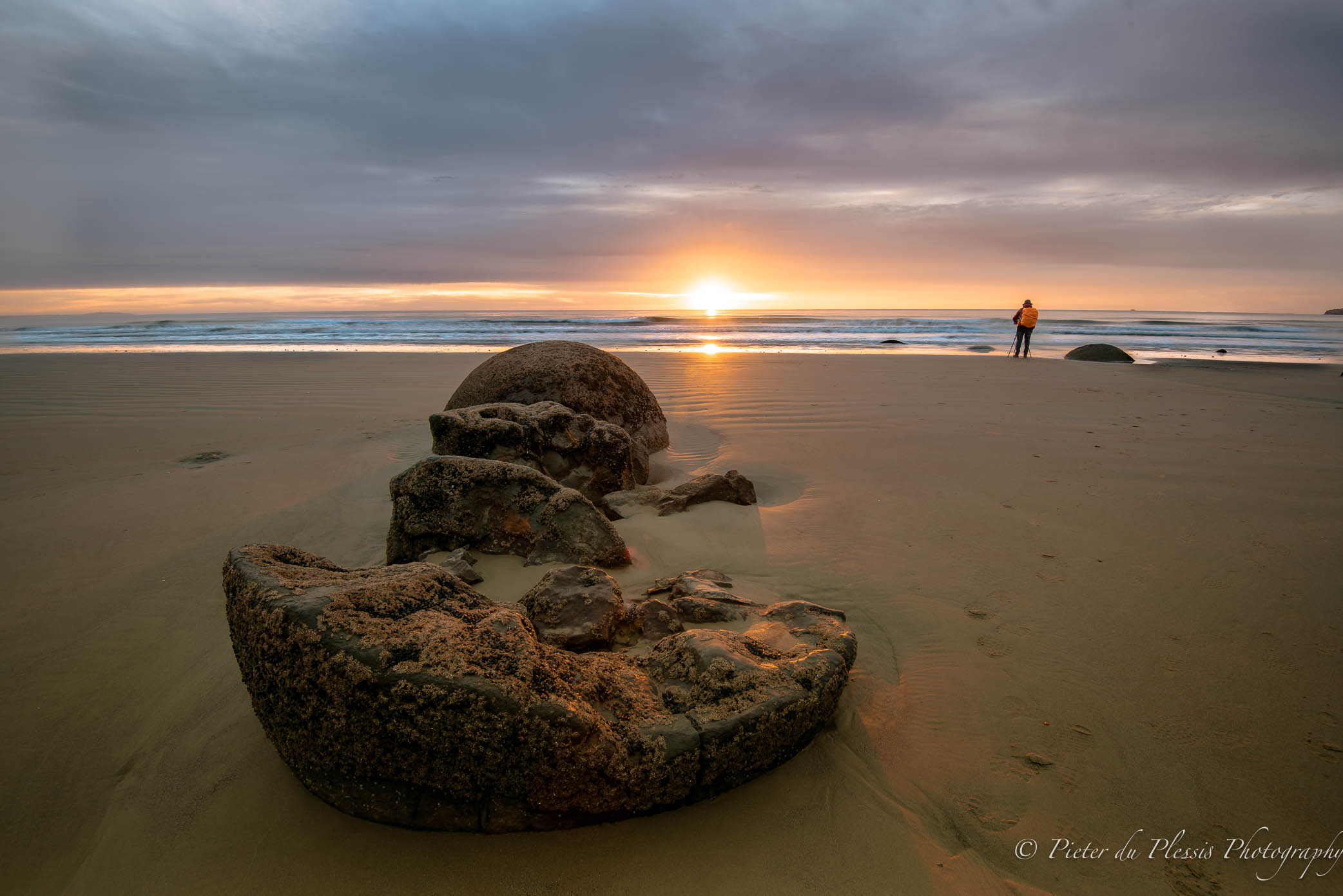 Moeraki Boulders,NZ May 2018