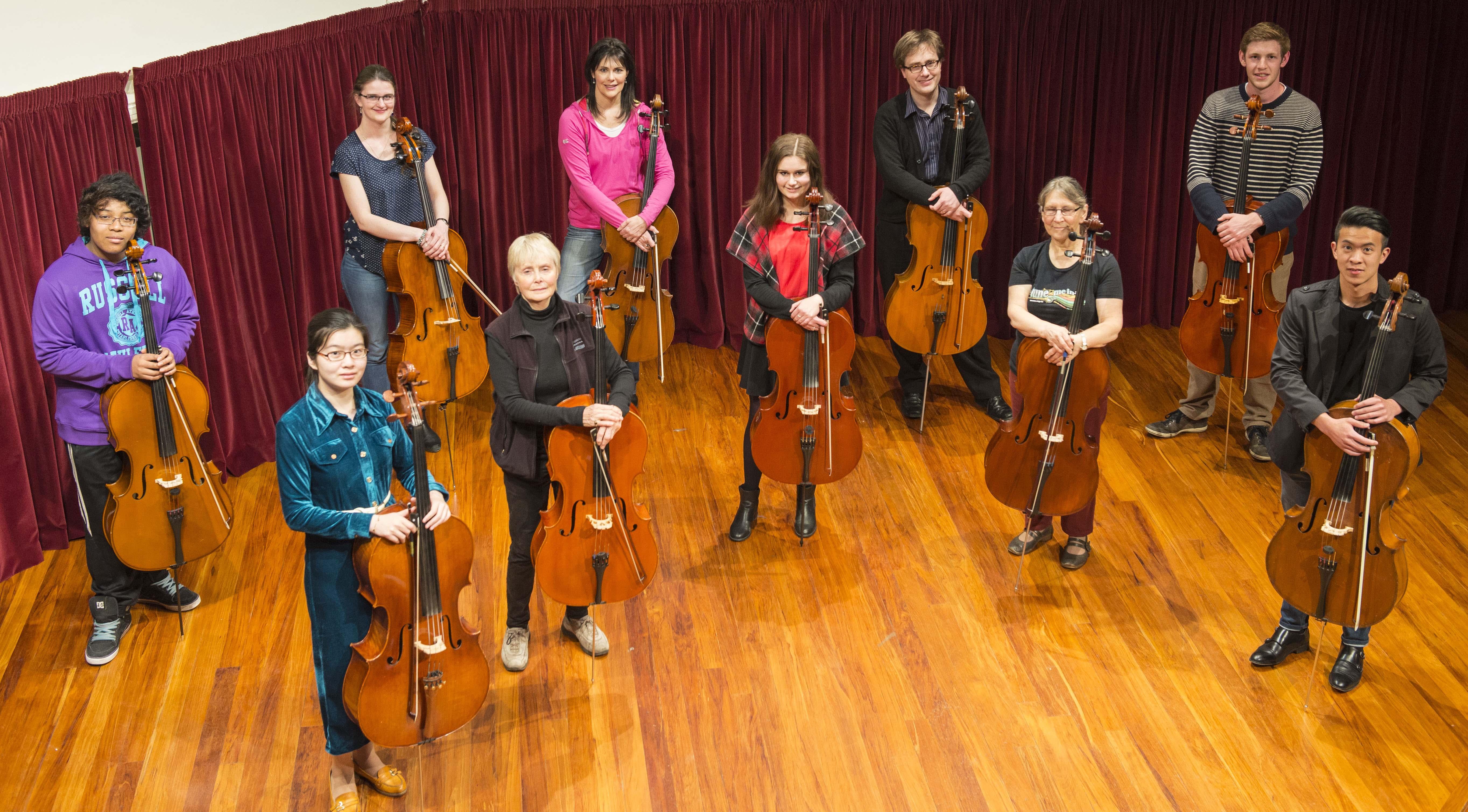 Cellists of Otago