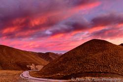 Lindis Pass Sunrise
