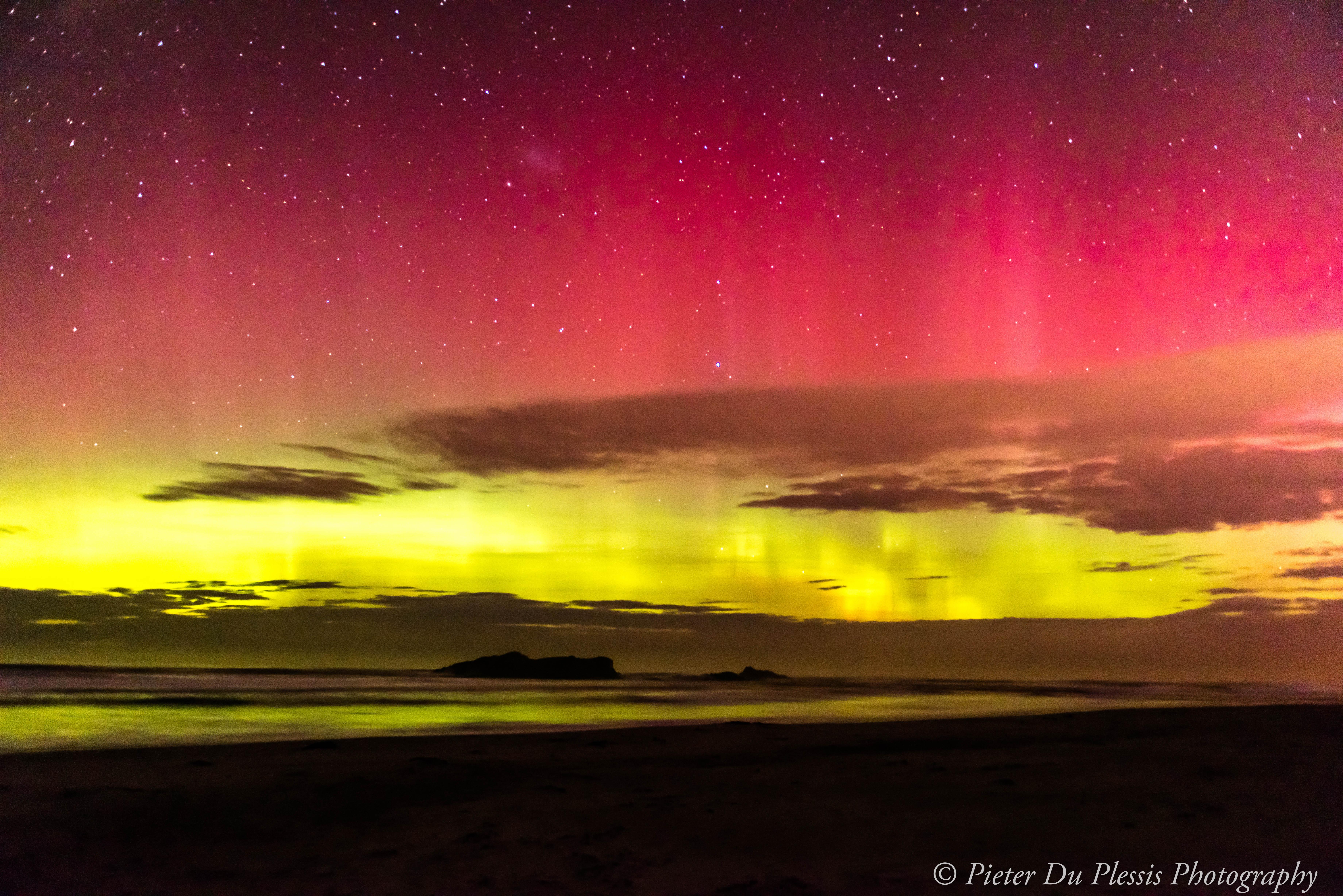 Aurora Austalis, Smails Beach