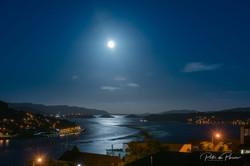Otago Harbour Moon Dec 2018