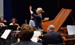 Holly Mathieson conducts, Aug 2014