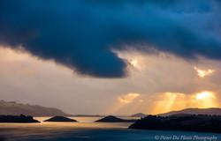 Storm Over Otago Harbour