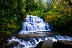 Purakaunui Falls,Catlins,New Zealand