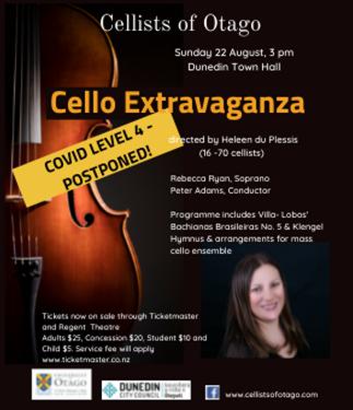 Cellists of Otago  Cello Extravaganza .png