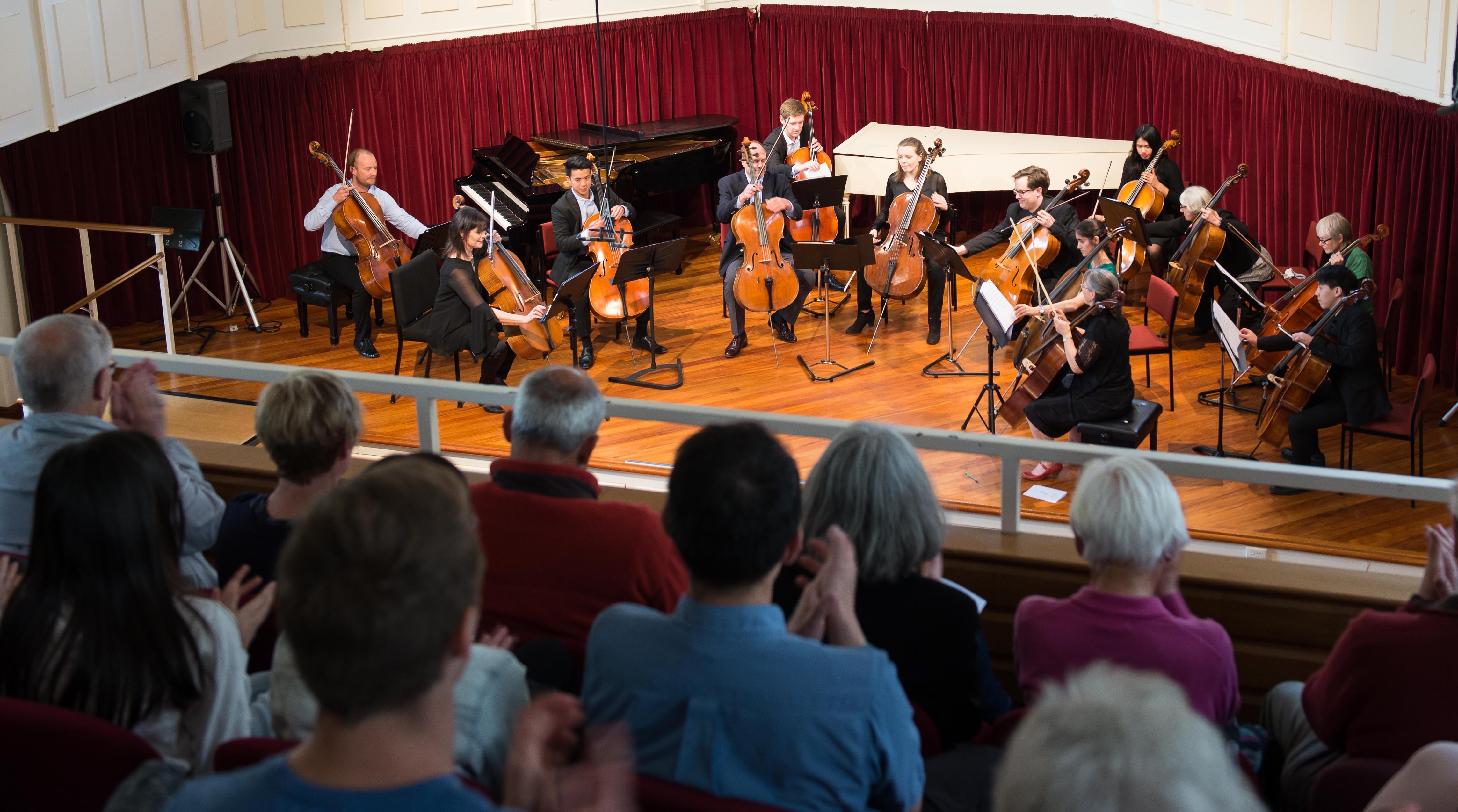 Cello Classics, Marama Hall, Oct 201