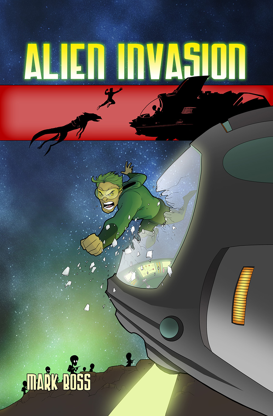 Alien Invasion Novel Cover