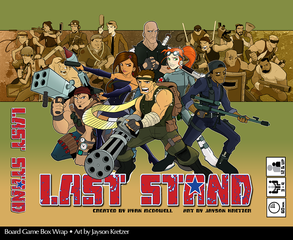 Last Stand Game Box