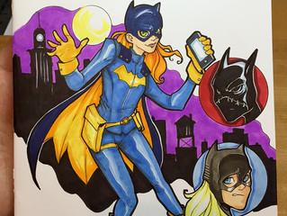 Batgirl #38 Sketch Cover!