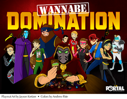 Wannabe Heroes Game Playmat