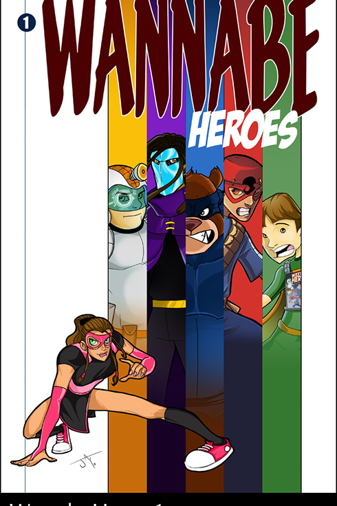 Wannabe Heroes Issue #1