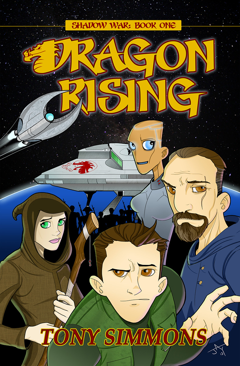 Dragon Rising Novel Cover