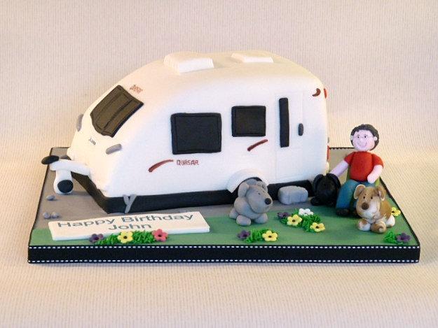 Caravan Cake Ideas