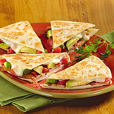 Bacon, Jersey Tomato & Avocado Quesadilla